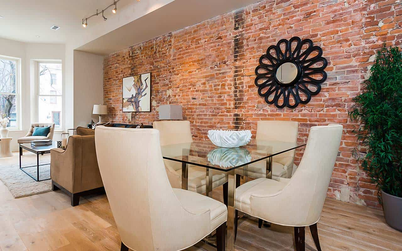 Multi-family Apartments in DC Living Room