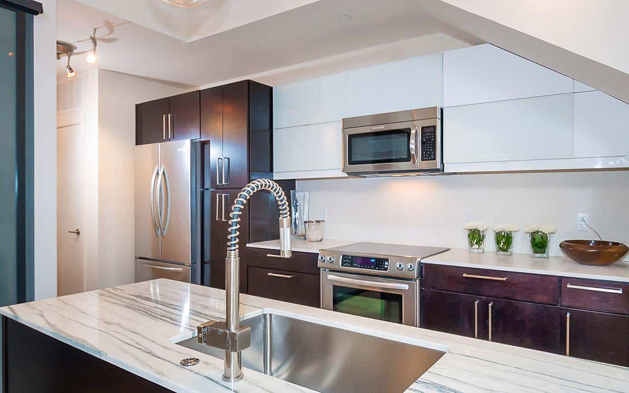 Multi-family Apartments in DC High End Kitchen
