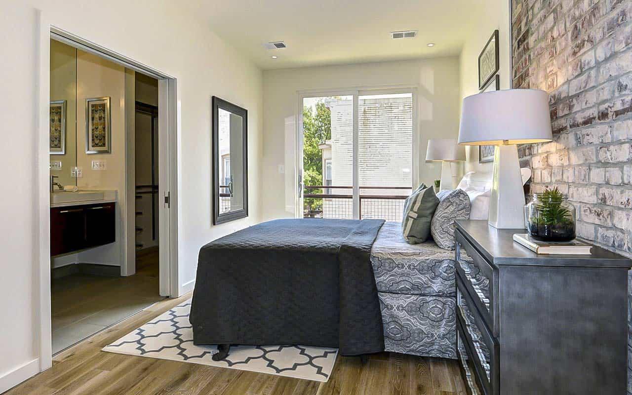 Washington DC Duplex Bedroom