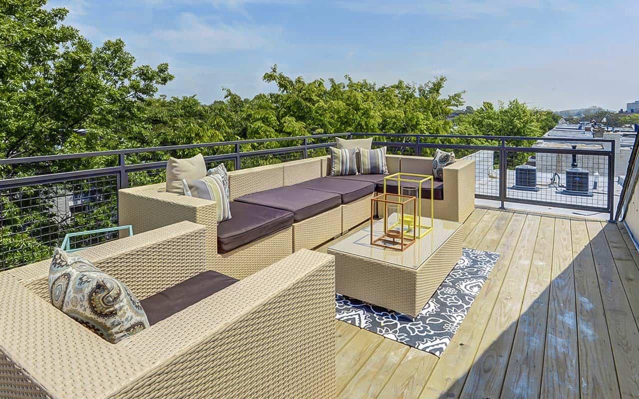 Washington DC Duplex Rooftop Deck