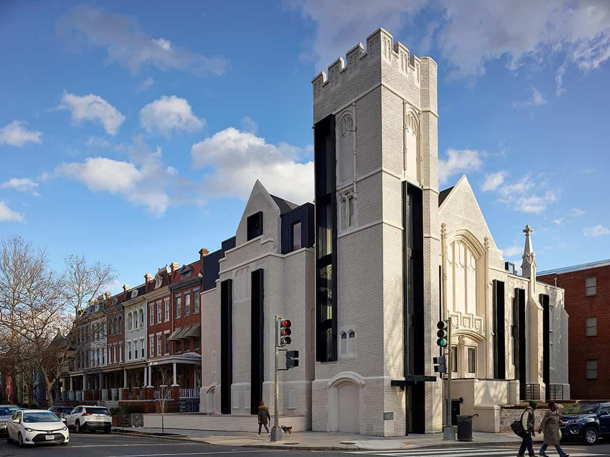 Co-living Church Conversion Exterior